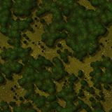 Seamless Green Terrain Background Royalty Free Stock Photography