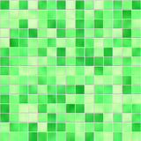 Seamless green tiles texture Stock Photos