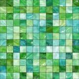 Seamless green tiles texture Stock Images