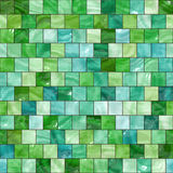 Seamless green tiles texture Royalty Free Stock Image