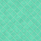 Seamless green tiles texture background Stock Image