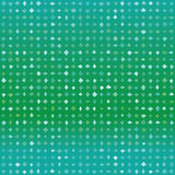 Seamless green vector pattern with random shapes. Abstract green vector detailed background with diamonds or squares in random shades of green, seamless pattern Stock Image