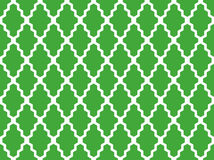 Seamless green and white moroccan geometric african pattern vector. Seamless green and white moroccan geometric african pattern Stock Photos