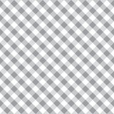 Seamless grey gingham vintage fabric textile pattern. Gingham check background. vector illustration
