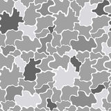 Seamless grey pattern Stock Images
