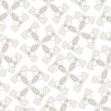 Seamless grey pattern Stock Photo