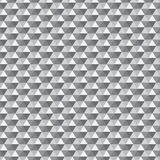 Seamless grey triangle pattern. All triangles are grouped by color and can be easily modified Royalty Free Stock Photo