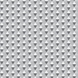 Seamless grey triangle pattern. All triangles are grouped separately and can be easily modified. Vector illustration Royalty Free Stock Photos