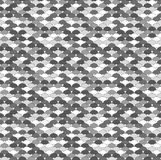Seamless greyscale pattern Stock Images