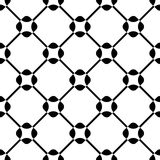 Seamless Grid Background Stock Image