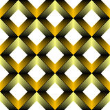 Seamless Grid Graphic Design. 3d Abstract Vector Background Royalty Free Stock Photos