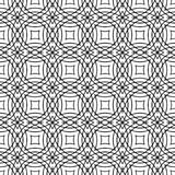 Seamless grid pattern design background. Seamless black white abstract grid pattern design background Stock Photography