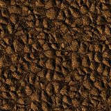 Seamless ground texture, abstract soil background Stock Photos