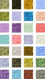 Seamless Grunge. Tiling grunge patterns in various colors Royalty Free Stock Image