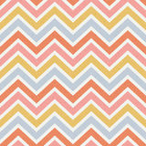 Seamless grunge effect zigzag pattern Royalty Free Stock Photos