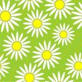 Seamless grunge flower texture Stock Photos