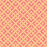 Seamless   grunge russian red pattern Royalty Free Stock Images
