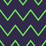 Seamless grunge textured zigzag pattern Royalty Free Stock Image