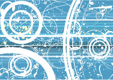 Seamless grunge wallpaper Stock Photography