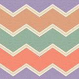 Seamless grunge zigzag paper pattern Stock Photo
