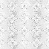 Seamless grungy floral pattern Royalty Free Stock Photo