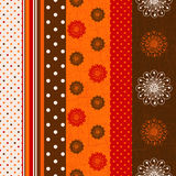 Seamless Grungy Striped Pattern Stock Photos