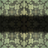 Seamless grungy vintage pattern Stock Photo