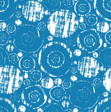Seamless Grungy Wallpaper Pattern Stock Photo