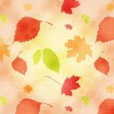 seamless höstbakgrund Arkivbild