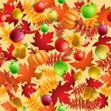 seamless höstbakgrund Royaltyfri Foto