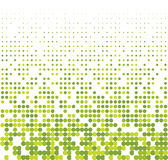 Seamless halftone background stock illustration
