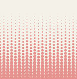 Seamless halftone background Royalty Free Stock Photography