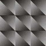 Seamless halftone pattern Royalty Free Stock Photo