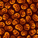 Seamless Halloween Arkivfoto