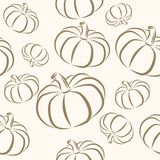 Seamless halloween background Royalty Free Stock Image