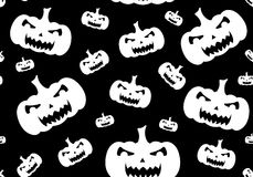 Seamless Halloween Background Stock Image