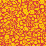 Seamless Halloween background. Stock Photography