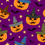 Seamless halloween background Royalty Free Stock Photo