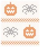 Seamless Halloween background Stock Photography