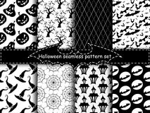 Seamless halloween backgrounds Stock Photography