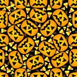 Seamless Halloween bakgrund Royaltyfria Bilder