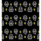 Seamless Halloween ghost pattern Royalty Free Stock Photo