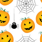 Seamless halloween pattern Royalty Free Stock Photography