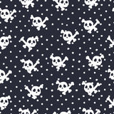 Seamless Halloween pattern. For Halloween day Royalty Free Stock Photo