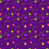 Seamless  halloween pattern Royalty Free Stock Photo