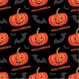 Seamless halloween pattern. Stock Photos