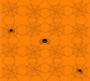 Seamless Halloween pattern. Vector illustration. Royalty Free Stock Photography