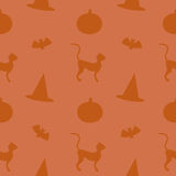 Seamless Halloween Stuff Royalty Free Stock Images