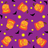 Seamless Halloween Tile Stock Photography