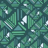 Seamless hand draw Folk pattern. weave lines ornament. Abstract weave lines ornament. Seamless hand draw Folk pattern. Backdrop for textile or book covers stock illustration